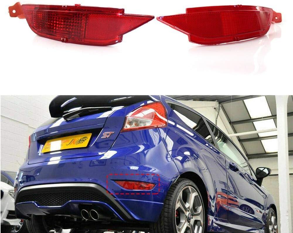 Three T Auto Heckstoßstange Rücklicht Led Reflektor Rückleuchten Nebelleuchten Heckleuchten Lampe Licht Für Fiesta Mk7 2008 2009 2010 2011 2012 Auto