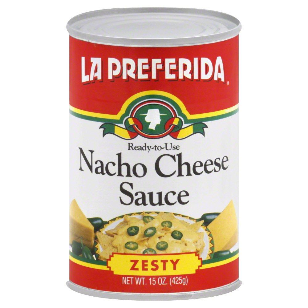 LA PREFERIDA SAUCE NACHO CHS, 15 OZ