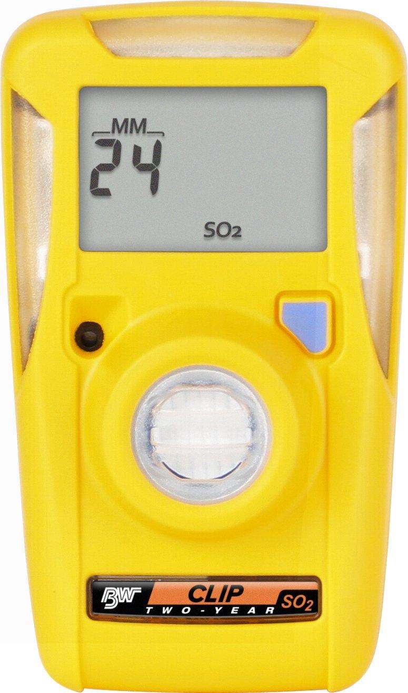 BW Technologies BWC2-S BW Clip Single Gas SO2 Monitor, 5/10
