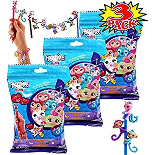 FingerLings Minis Blind Bag Series - 3 Pack of Blind Bags