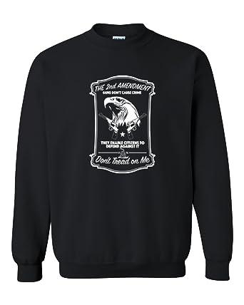 1458d84f82 Amazon.com  2nd Amedment American Eagle Mens Womens Crewneck ...