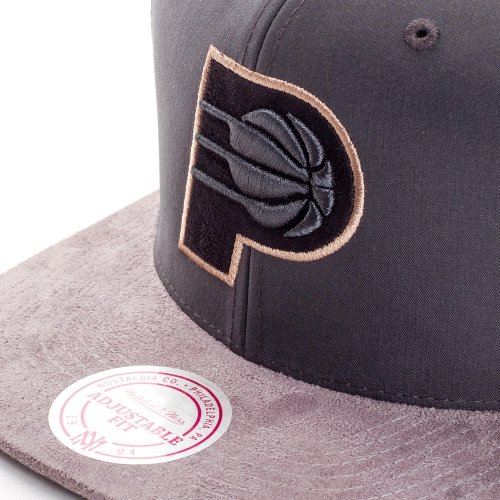 Mitchell & Ness Indiana Pacers Buttery Casquette grey