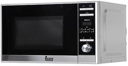 Teka MWE 225 G Microondas de Libre instalación con Grill y 8 menús de Acceso Directo, 1050 W, 20 litros, Gris