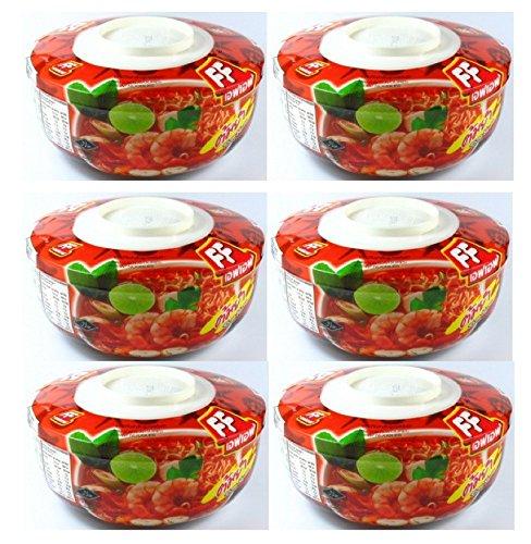 - FF Tom Yum Flavor Instant Noodle Bowl 2.30 Ounces 6-Pack (Tom-Yum)