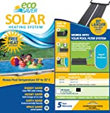 Eco Saver 20-Foot Solar Heating Panel System