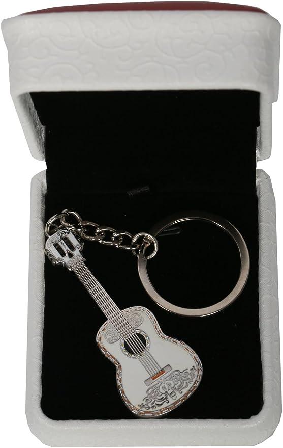 Mesky Llavero de Guitarra Anillo de Llave Coco Accesorio de ...
