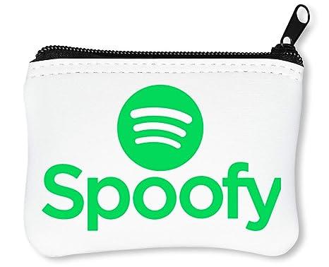 Spoofy Logo Parody Funny Billetera con Cremallera Monedero ...