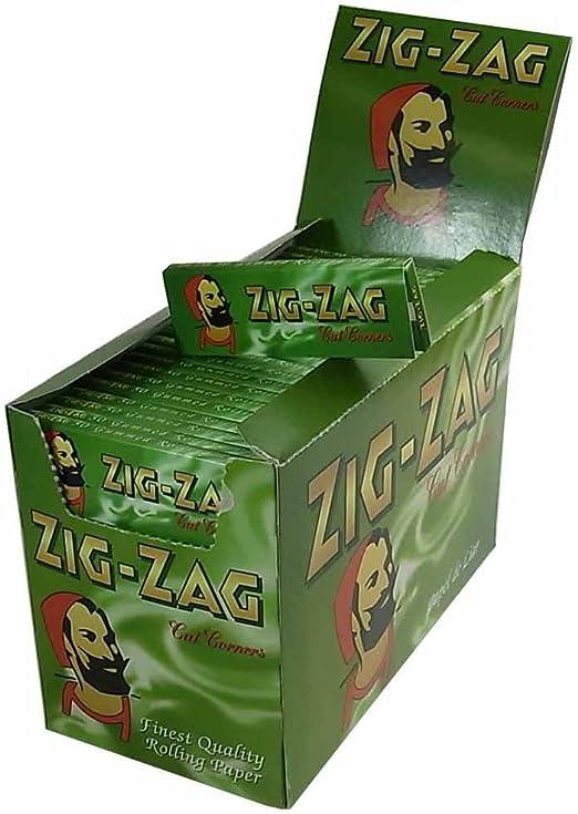 Zig Zag Caja Verde de 100 Libros de Papel de Liar: Amazon.es: Hogar