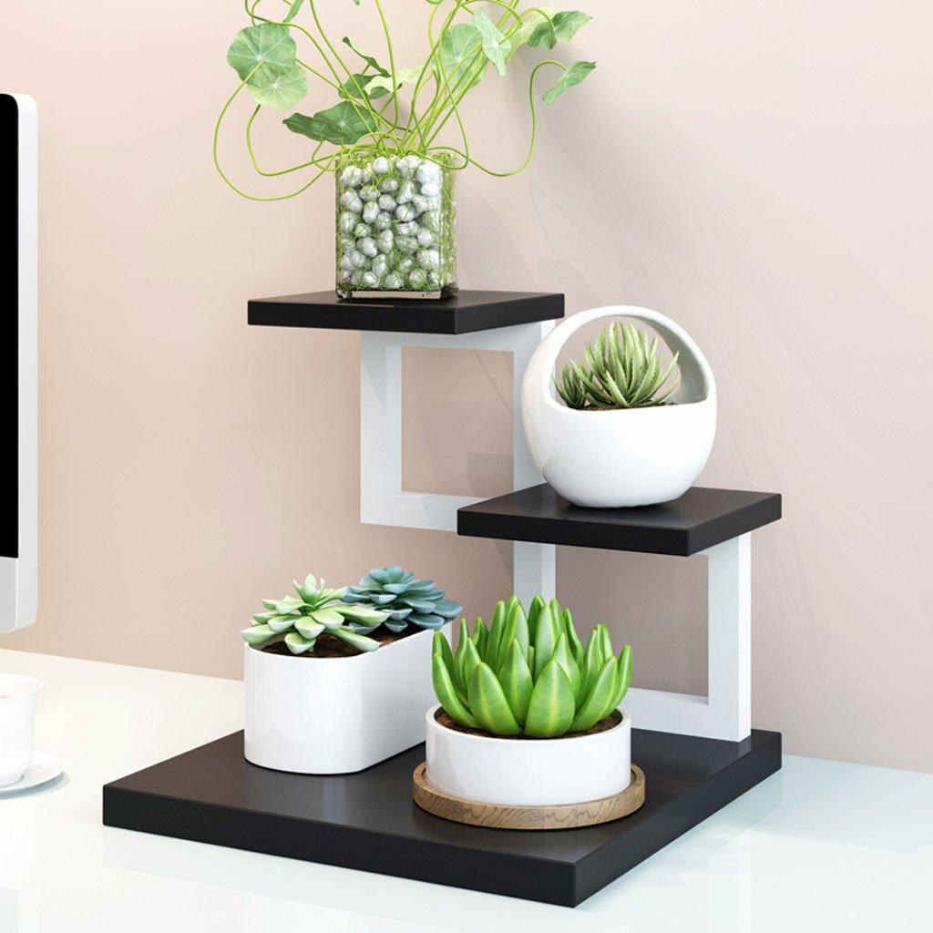 ti renderà soddisfatto JU FU Supporto per fiori in miniatura miniatura miniatura in legno massello adatto per soggiorno 6 colorei   (colore   4)  punto vendita