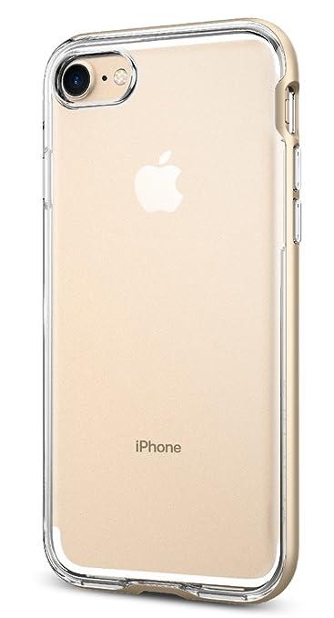 16 opinioni per Spigen 042CS20521 Custodia per Apple iPhone 7, Oro/Champagne