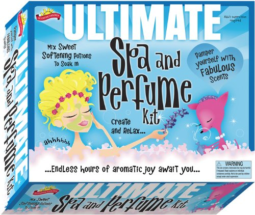 - The Ultimate Spa & Perfume Kit Kids Children