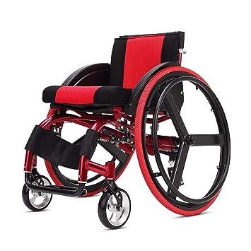 Amazon.com - YE ZI Wheelchair - Shock-Absorbing Hand-Push ...
