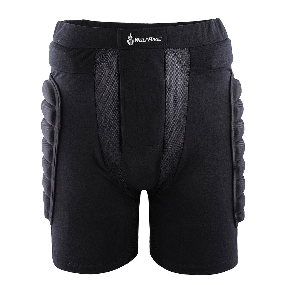 docooler 3D Padded Short Protective Hip Butt Pad Ski Skate Snowboard Skating Skiing Protection Drop Resistance Roller Compression Shorts Pants