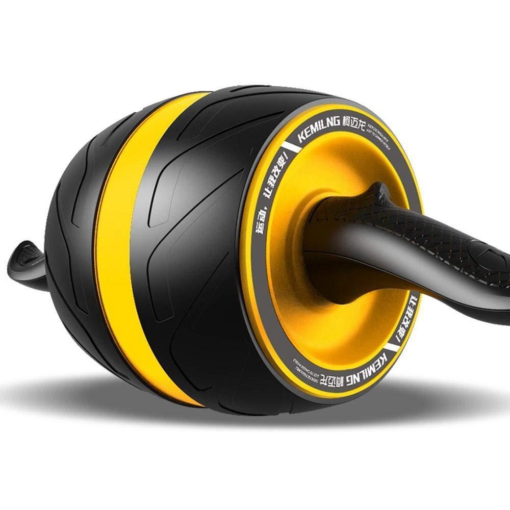 Olydmsky Wheel Bauchtrainer Die Taille und Bauch-Zyklus von Männern und Frauen erhielten Bauch Weste Linie Trainer Haushalt Damen Gewicht ROTuziert Bauch-Roller