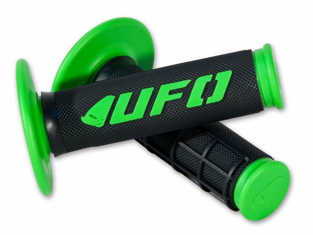 KX Green Enduro Challenger Grips UFO Motocross