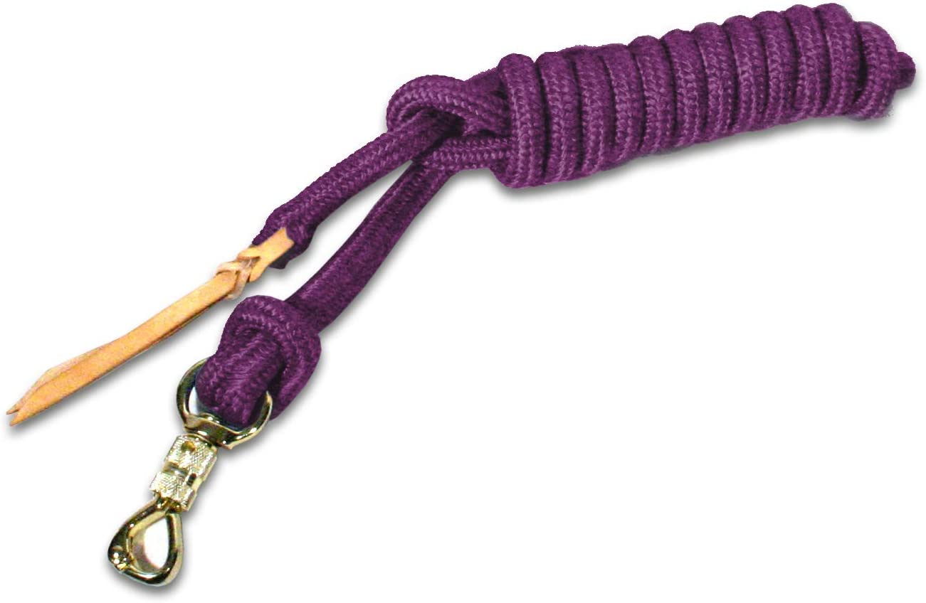 Kensington Ballistic Nylon Clinician Training Lead – 15 , 25 , 35 ft Training Lead – Tear-Resistant, with Metal Hardware to Keep Lead Fastened – Heavy Duty Braided Lead with Quick Swivel Snap