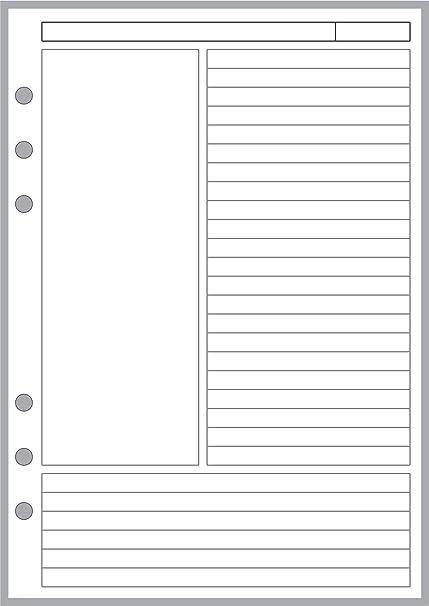 Planificadores y organizadores para los cuadernos tamaño A5 ...