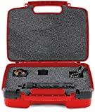 Hard Storage Carrying Case For 360Fly 360 4K Camera - Stores Camera, Charger And Accessories, Safely - Red