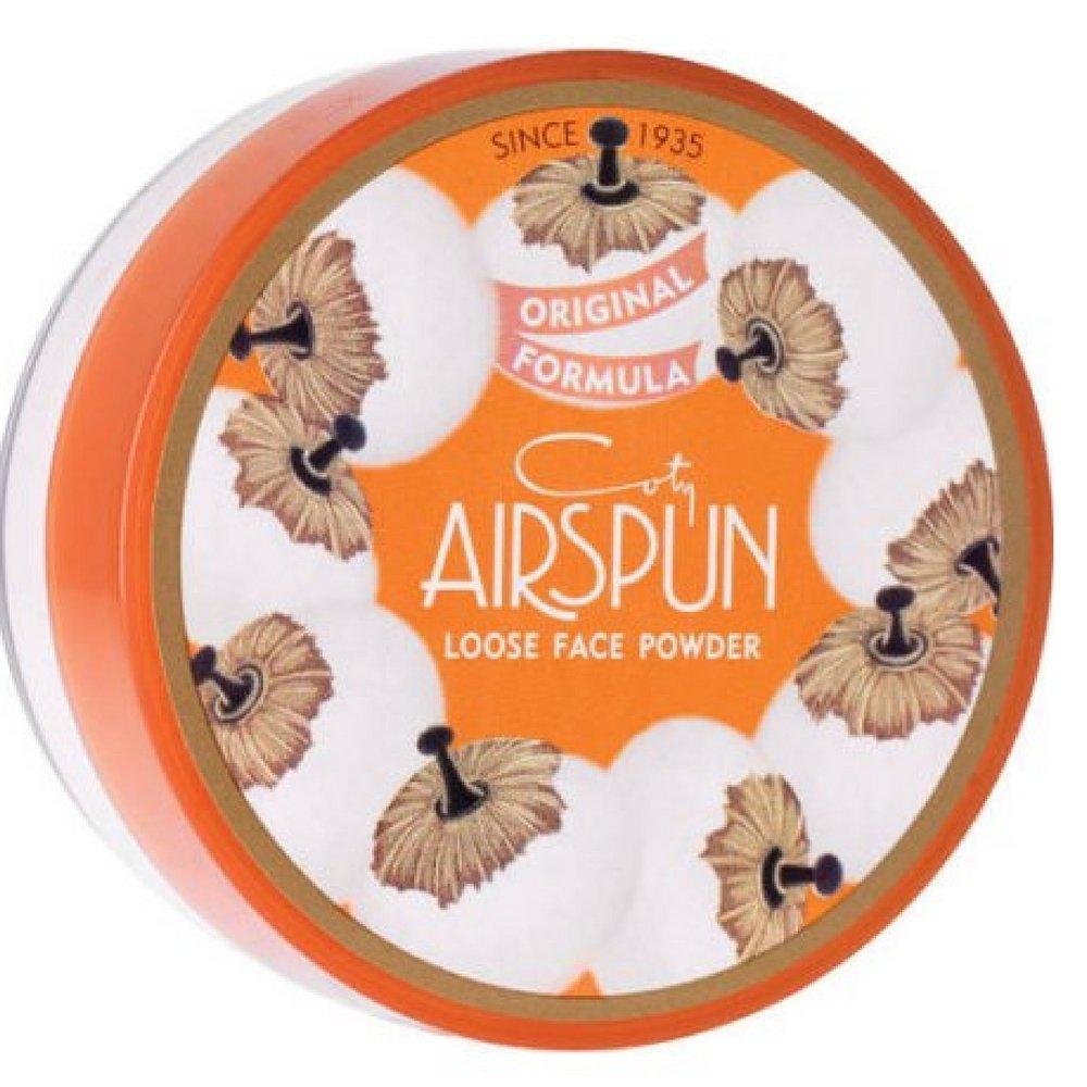 Coty AirSpun Loose Face Powder 070-24 Translucent, 2.3 oz (Pack of 3)