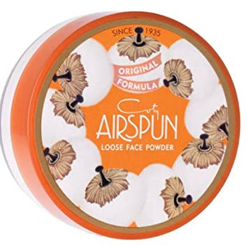 A Beauty Secret since 1935. The creation of a visionary Master Perfumer, Francois Coty, Airspun is a loose face powder blended with air, providing the ultimate in coverage with a lightweight feel.