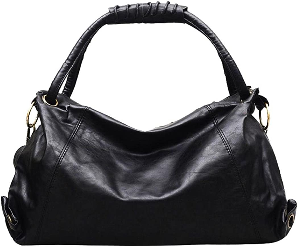 Bucket Bag,ZOMUSA Leather Retro Drawstring Bucket Tote Bag For Women With Shoulder Strap Hot Sales!