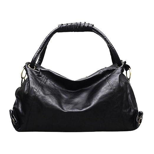 WILLTOO Womens Shoulder Bag Hobos Bag Fashion Tote Patent Handbag  Crossbody Messenger-Gift for Girlfriend ( d36ef58eb4083