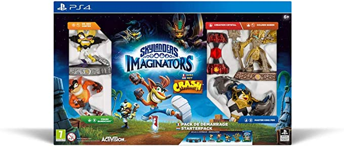 Skylanders: Imaginators - Crash Bandicoot - Pack De Démarrage ...