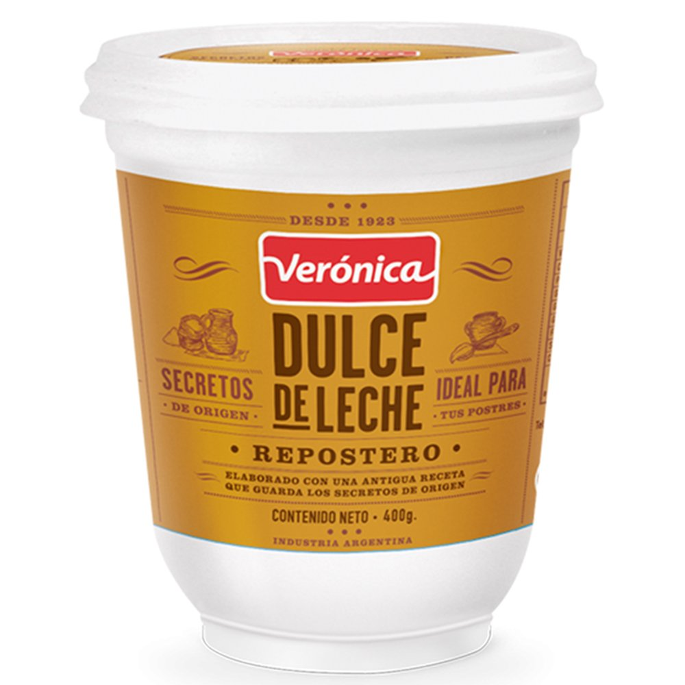 Amazon.com : VERONICA Dulce de leche Veronica Repostero, 0.88 lb : Dessert Toppings : Grocery & Gourmet Food