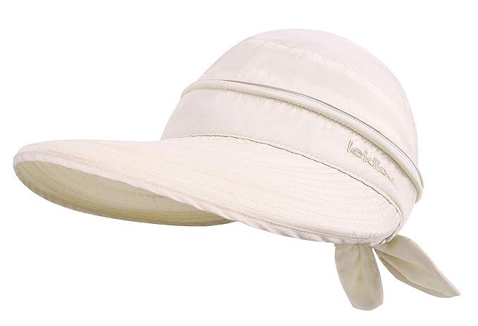 20ff8b865 Simplicity Women's UPF 50+ UV Sun Protective Convertible Beach Hat Visor