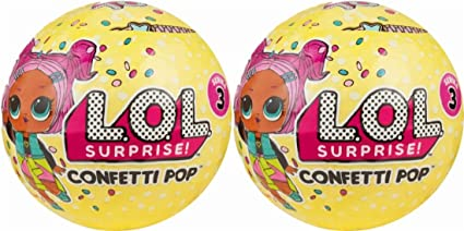 Amazon Com L O L Surprise Confetti Pop Series 3 Wave 1