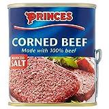 Princes Corned Beef Reduced Salt (340g) - Pack of 2