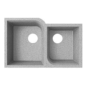 Swanstone qurc-3322 81,3 cm Doppel Waschbecken Unterbau Granit Küche ...