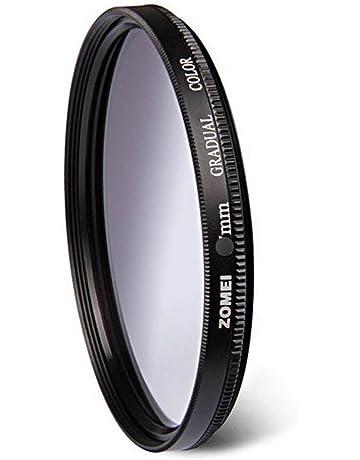 para Canon Nikon Sony Lente de c/ámara r/éflex Digital Yunchenghe Filtro de gradiente de gradiente Rojo Graduado de 49mm