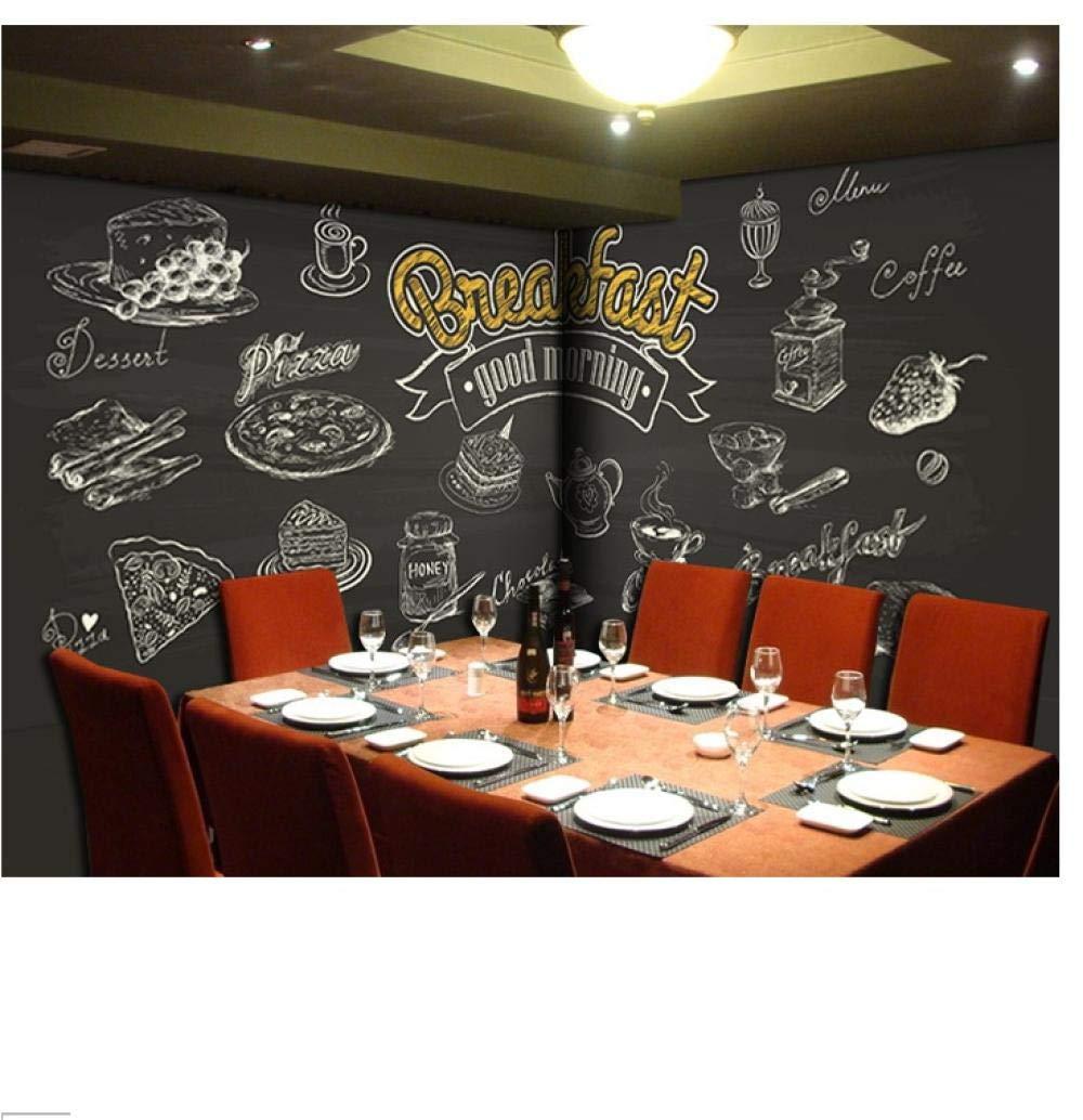 Eufjsdhf Papel Tapiz 3D Retro Cafe Restaurant Bar Inglés ...