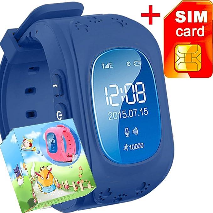 Amazon com: GBD GPS Tracker Smart Watch for Kids with Sim