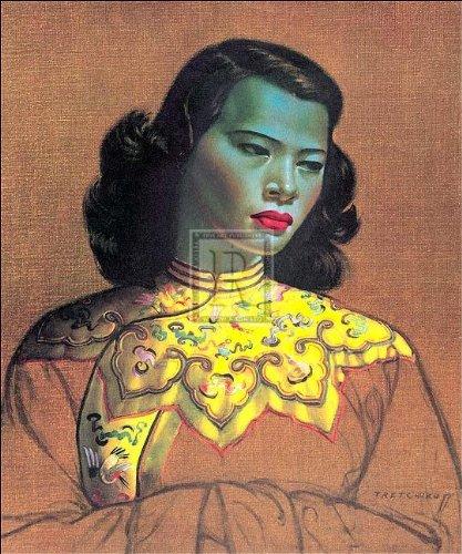(VLADIMIR TRETCHIKOFF - CHINESE GIRL)
