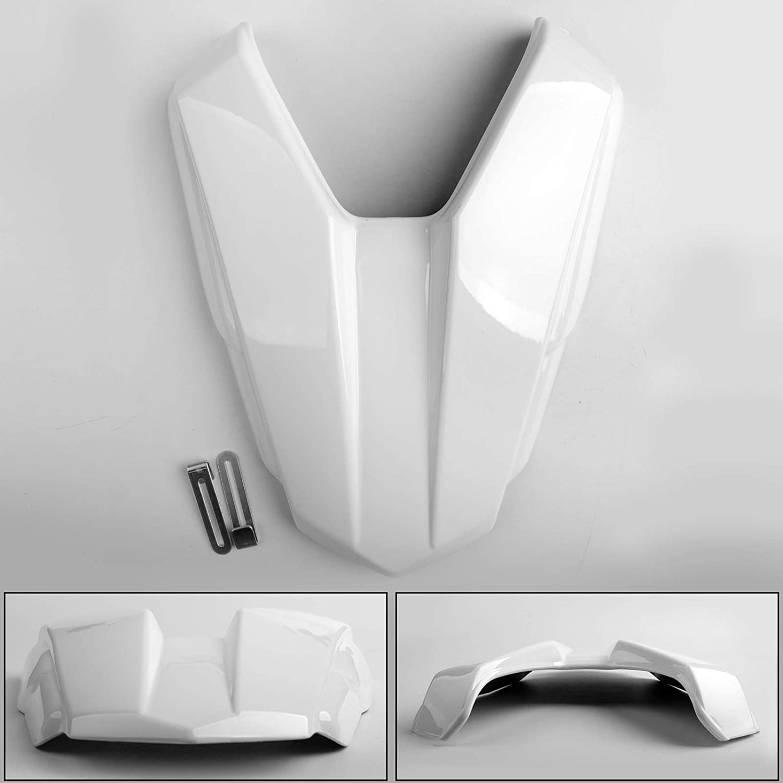 Artudatech Motorrad Soziusabdeckung Sitzkappe Verkleidung Heckabdeckung R/ücksitzbezug Rear Seat Cowl Fairing Tail Cover f/ür HON-DA CB500F 2016-2018 CBR500R 16-19