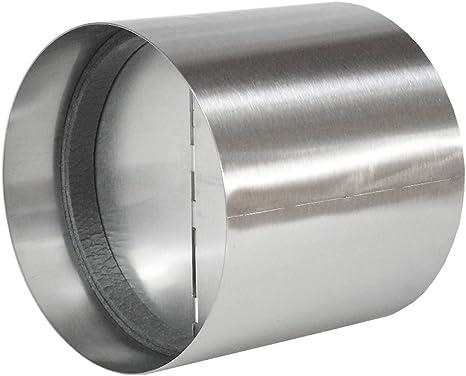 EASYTEC Válvula antirretorno de acero inoxidable Ø 150 mm de diámetro: Amazon.es: Grandes electrodomésticos