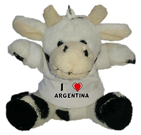 Shopzeus Vaca de Peluche (Llavero) con Amo Argentina en la ...