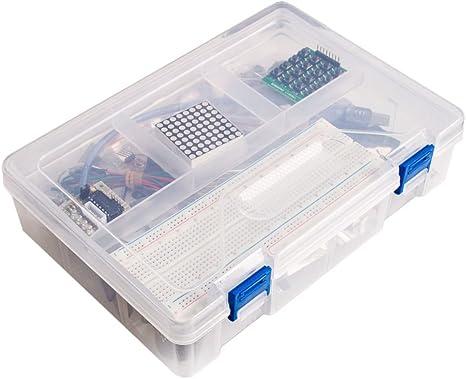 RoboMall - Kit de iniciación para Arduino UNO R3 RFID en caja de plástico: Amazon.es: Bebé