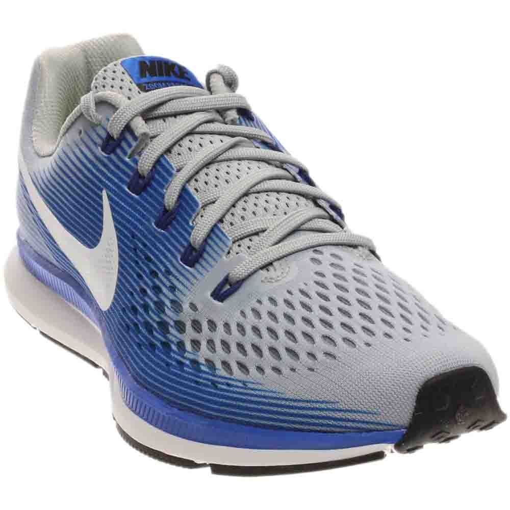 the latest 7a60f 2bab2 Galleon - Nike Men s Air Zoom Pegasus 34 Running Shoe Wolf Grey White Racer  Blue Size 11 M US