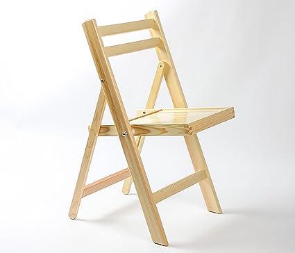 MLhky sedie pieghevoli Legno sedie pieghevoli in legno massiccio ...