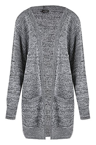 Femmes Grosse Boyfriend Outlet Tricot Baggy Maille Cardigan p Oops Grand Femmes Ouvert twUx8dxqX