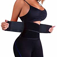 VITOMOR Women's Slimming Waist Shaper Body Support Waist Trainer Trimmer Cincher Belt with Dual Adjustable Belly