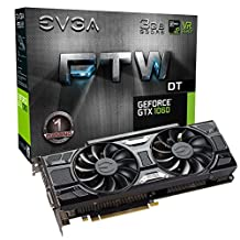 EVGA GeForce GTX 1060 3GB FTW DT GAMING ACX 3.0, 3GB GDDR5, LED, DX12 OSD Support Graphic Cards 03G-P4-6166-KR