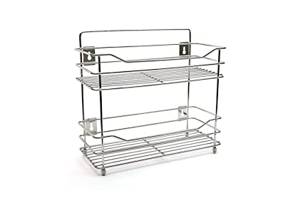 Buy Be Mall 2 Layer Stainless Steel Kitchen Rack Stand For Office Home Silver Small Online At Low Prices In India Amazon In