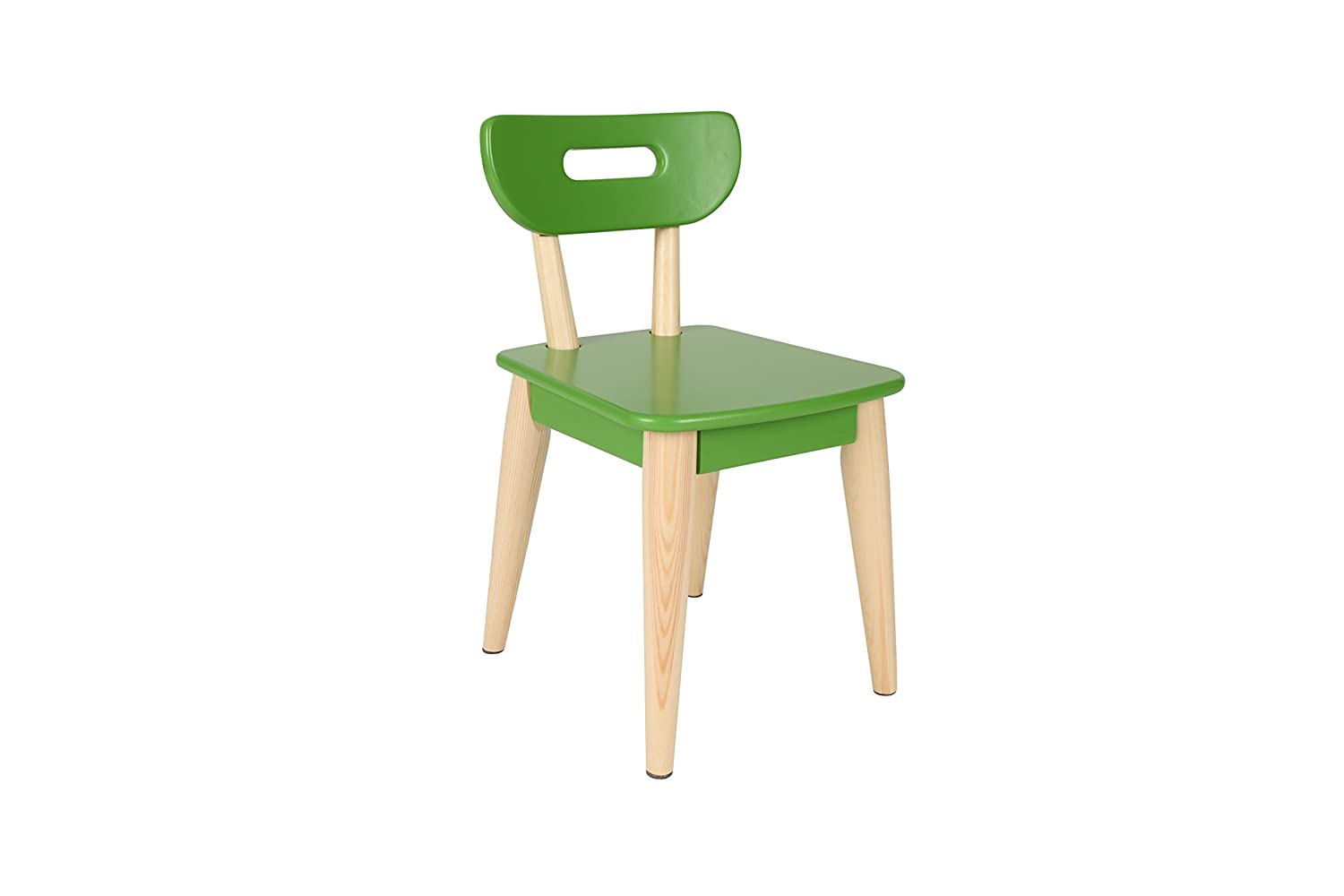 Amazon com max lily modern style wood kid and toddler chair kitchen dining