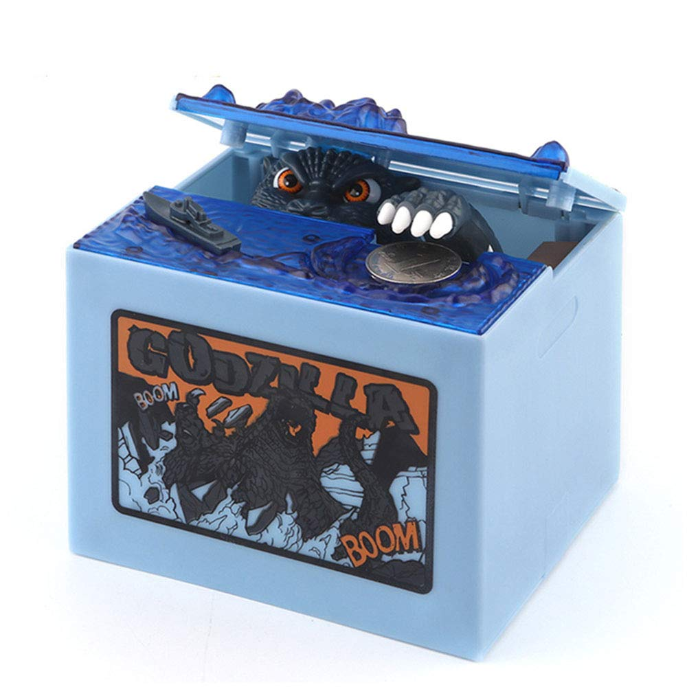 Babook- Electronic Piggy Bank , Godzilla Sound Funny Kids' Money Banks for Children by Babook
