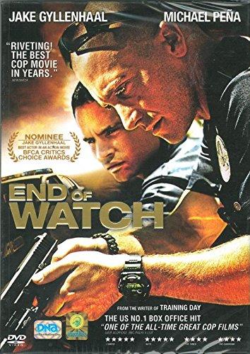 End Of Watch (Region 3, David Ayer, DVD) Jake Gyllenhaal , Michael Pena
