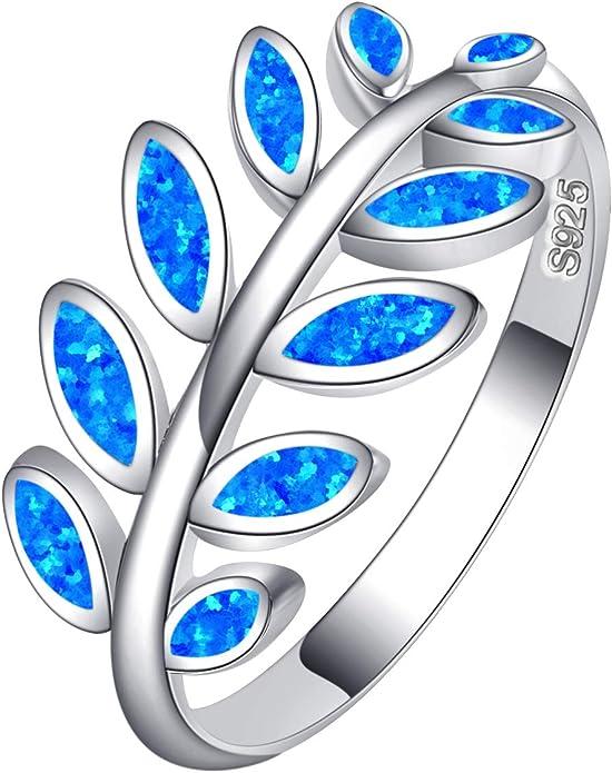 olive leaf jewel ancient greek jewelry collection opal blue sterling silver greek jewelry olive leaf blue opal ring greek ring